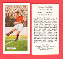 Liverpool Billy Liddell Scotland